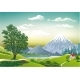 Megalopolis Mountains in the Background - GraphicRiver Item for Sale