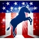Democrat Donkey Political Mascot - GraphicRiver Item for Sale