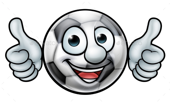 Soccer Football Ball Mascot - Miscellaneous Characters