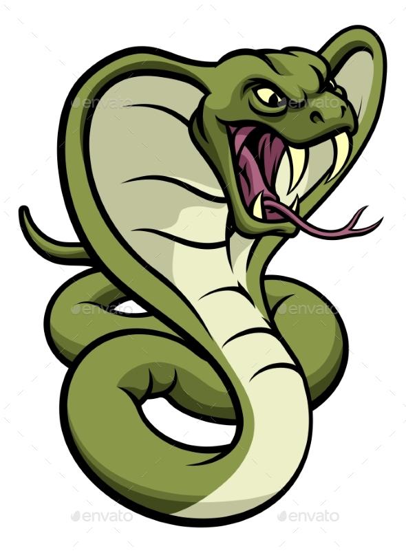 Cobra Snake Viper Mascot - Animals Characters