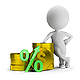 3D Small People - Deposit Percentage - GraphicRiver Item for Sale