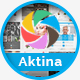 Aktina - Responsive Multi-Purpose HTML Template