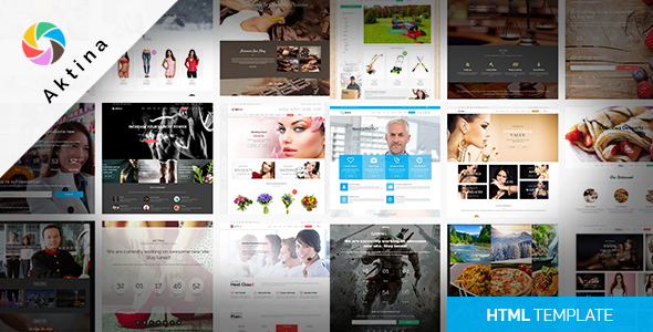 ThemeForest Aktina Responsive Multi-Purpose HTML Template 20172578