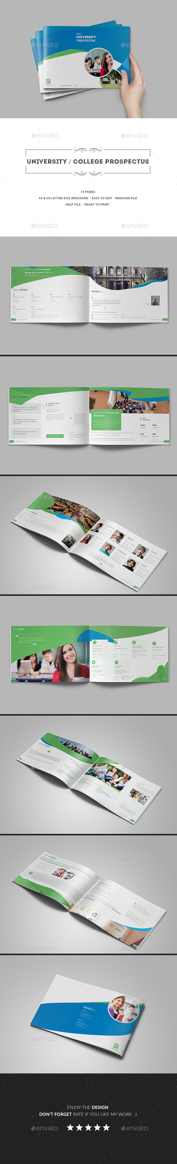 GraphicRiver University College Prospectus 20308932