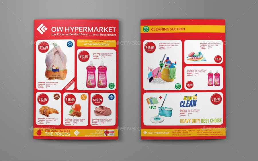 Products Catalogue Template Insssrenterprisesco - Product brochure template