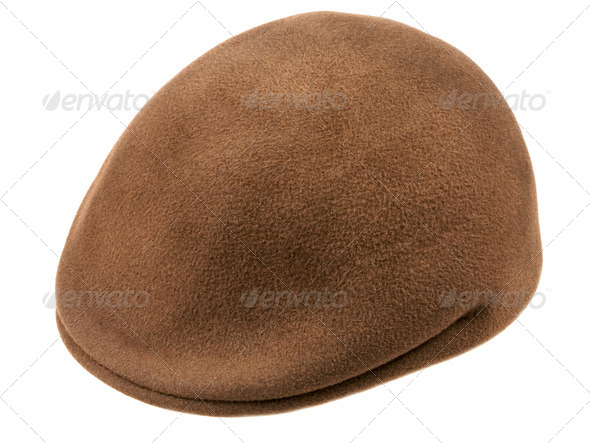 green felt cap - Stock Photo - Images
