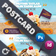 Ice Cream Postcard Templates