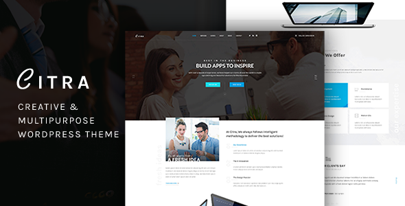 Citra - Finance WordPress Theme - Business Corporate