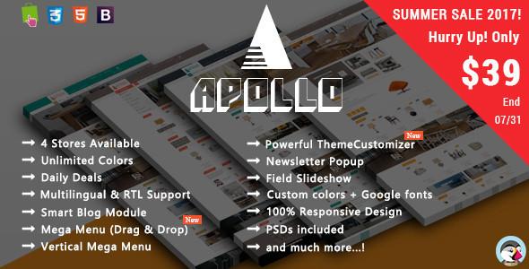 Apollo - Furniture Responsive Prestashop Theme
