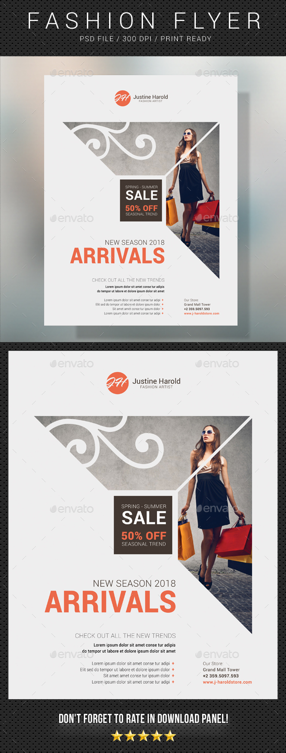 Fashion Flyer 12 - Commerce Flyers