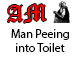 Man Urinating into Toilet - AudioJungle Item for Sale