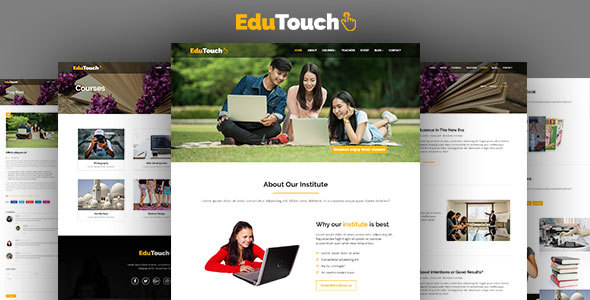Download EduTouch - Education Responsive Template