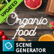 Organic Food Mockup & Hero Images Scene Generator - GraphicRiver Item for Sale