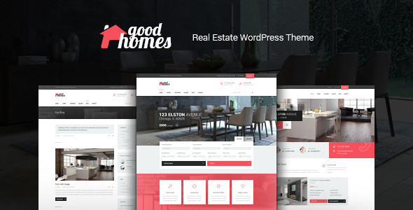 Good Homes | Real Estate Theme + AI SEO Restb.ai Plugin
