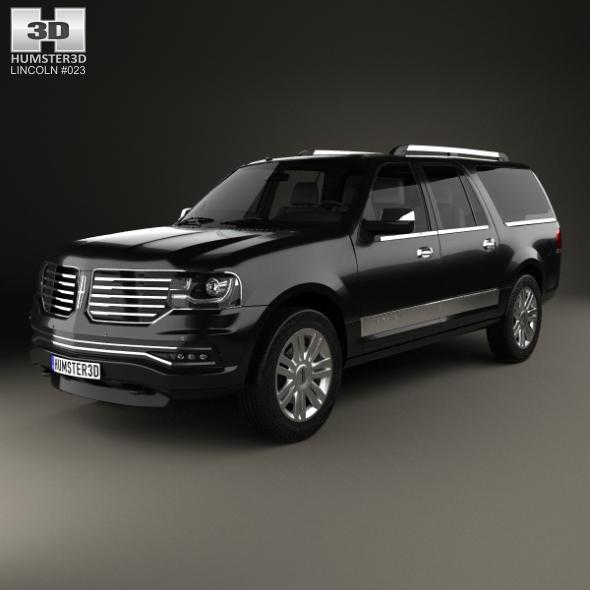 Lincoln Navigator L 2014 - 3DOcean Item for Sale