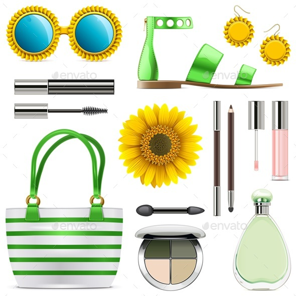 Vector Fashion Accessories Set 8 - Retail Commercial / Shopping