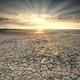 sunbeams over Wadden sea coast - PhotoDune Item for Sale