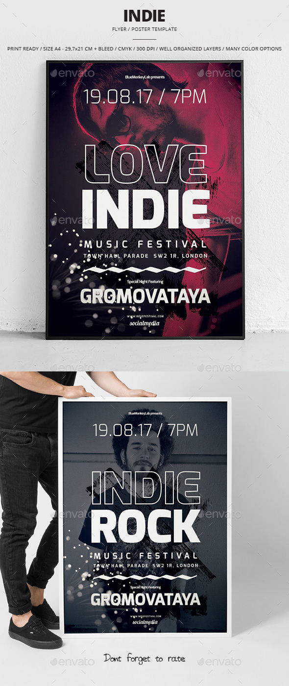Indie Flyer / Poster 20 - Events Flyers