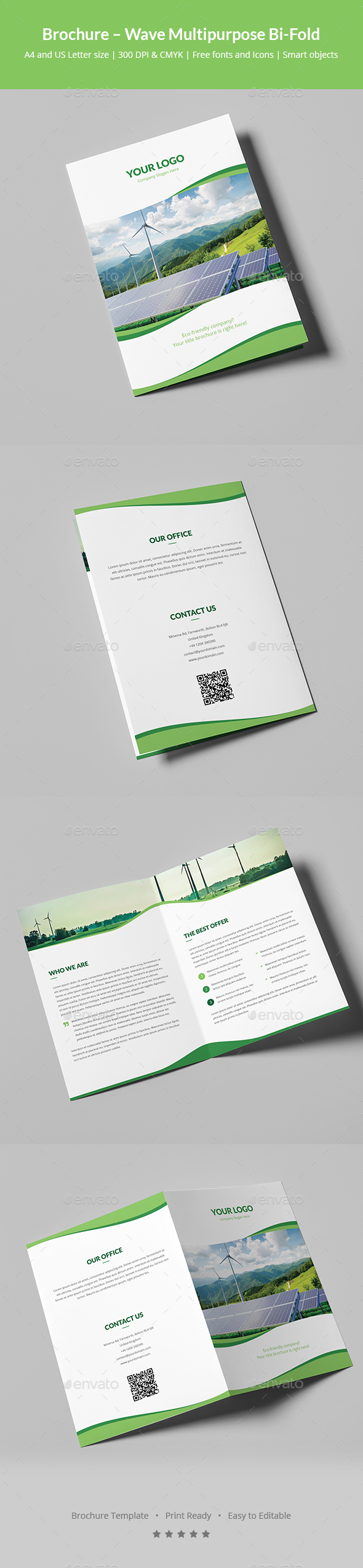 Brochure – Wave Multipurpose Bi-Fold - Corporate Brochures