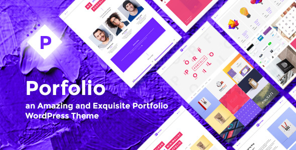 ThemeForest Porfolio Creative Agency & Personal Portfolio WordPress Theme 20311160