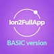 Ion2FullApp - Full Ionic Template for Ionic 3+