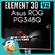 Asus ROG PG348Q for Element 3D