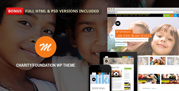 Mission - Responsive WP Theme For Charity - Charity Nonprofit