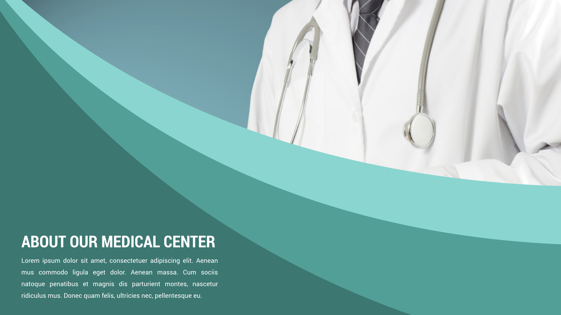 healthcare and medical keynote presentation template by spriteit