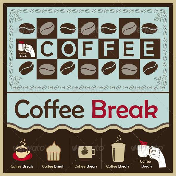 Coffee Break - Food Objects