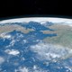 Bering Strait from Outer Space - VideoHive Item for Sale