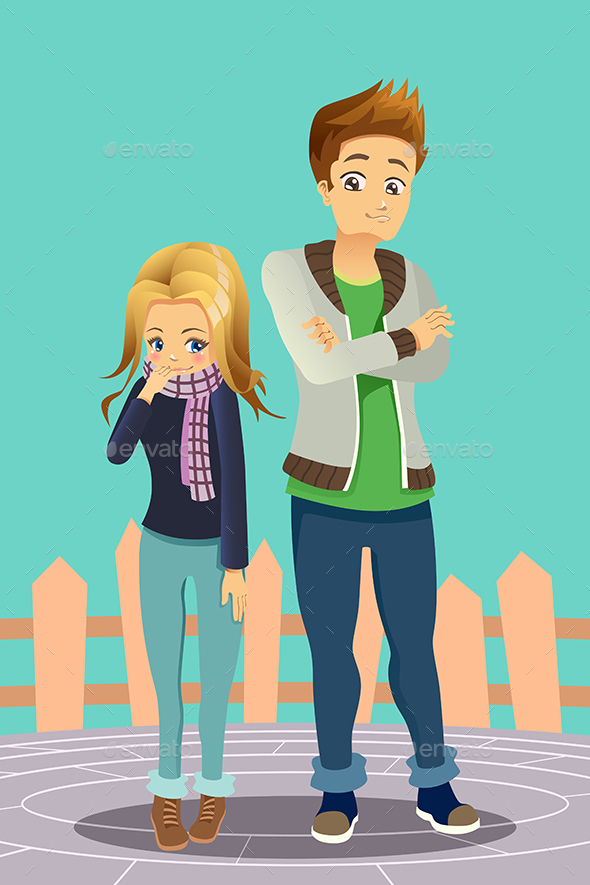 GraphicRiver Young Couple Outdoor 20313324