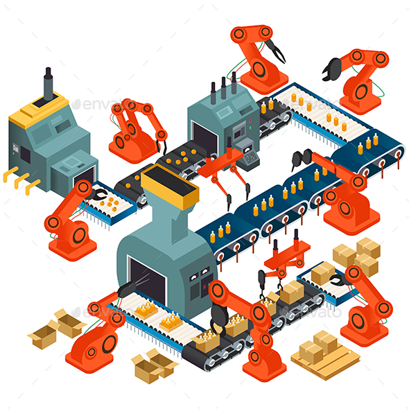 Isometric Design of Automated Processing Plant - Industries Business