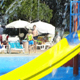Children in Waterpark Ambience