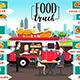 Food Trucks Infographics - GraphicRiver Item for Sale