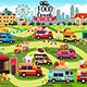 Food Trucks Festival Map - GraphicRiver Item for Sale