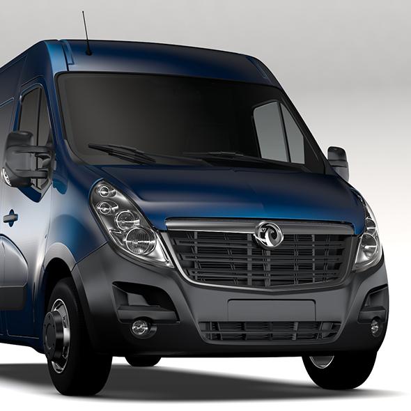 Vauxhall Movano L2H2 Van 2016 - 3DOcean Item for Sale
