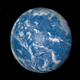 Planet Earth Rotating with Pacific Ocean - VideoHive Item for Sale