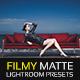 Filmy Matte Lightroom Presets