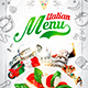 Italian Menu Template vol.3 - GraphicRiver Item for Sale