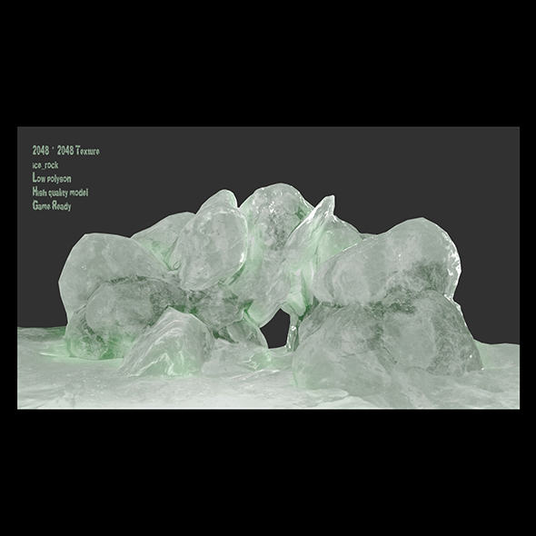 ice cave 1 - 3DOcean Item for Sale