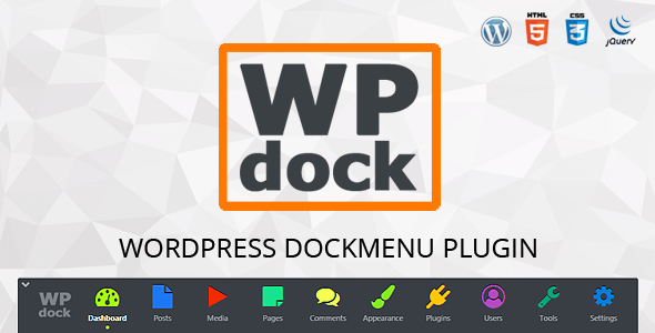 CodeCanyon Menu WordPress plugin Wpdock 20314988