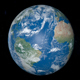 Planet Earth Rotating with Atlantic Ocean Sea - VideoHive Item for Sale