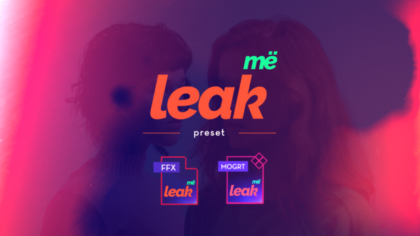 Videohive Leak Me Preset 20315049 - Free download