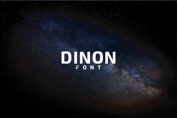Dinon - Sans-Serif Fonts