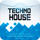 Techno House Flyer