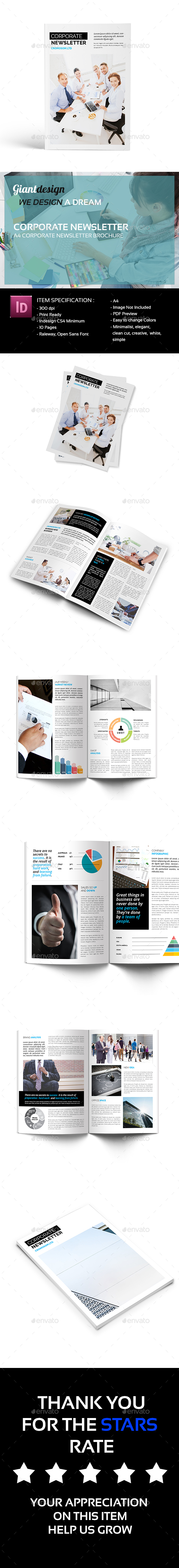 GraphicRiver Corporate Newsletter 20315508