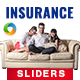 Insurance Sliders - 8 Designs