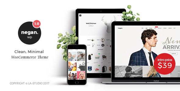 Negan - Clean, Minimal WooCommerce Theme - WooCommerce eCommerce