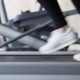 Young Athlete Exercising Run in the Gym - VideoHive Item for Sale
