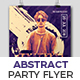Abstract Party Flyer 01